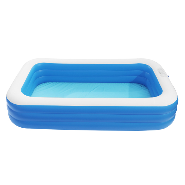 """120"""" x 72"""" x 22"""" Inflatable Swimming Pool - Wall Thickness 0.4mm Blue"""