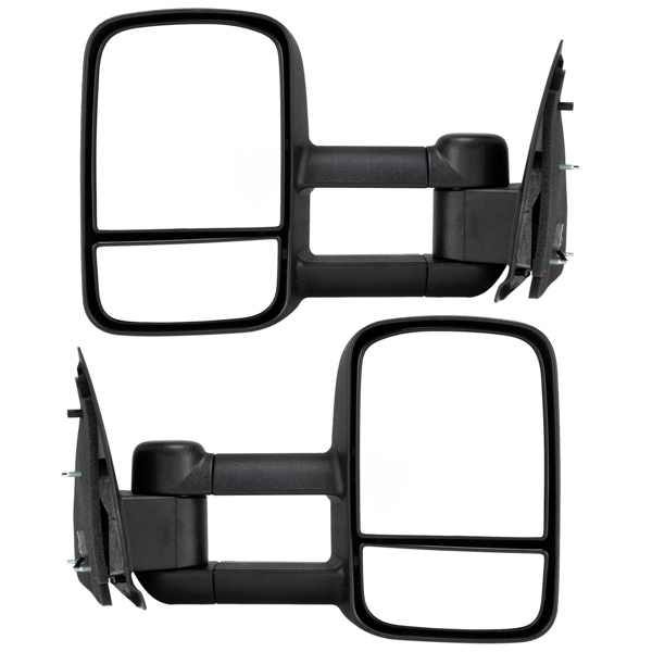 For 1997-2003 Ford F150 Extend Telescoping Power Side Tow Mirrors Left Right