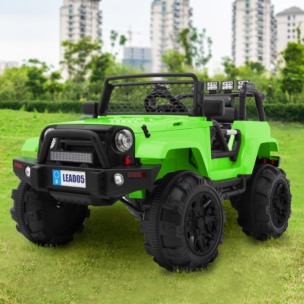 LEADZM LZ-905 Remodeled Dual Drive 45W * 2 Battery 12V7AH * 1 With 2.4G Remote Control Green