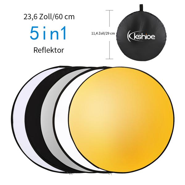 "Rectangular with 14"" RGB Ring Light and Remote Soft Box, European Standard Rectangular KS012 Camera Kit"