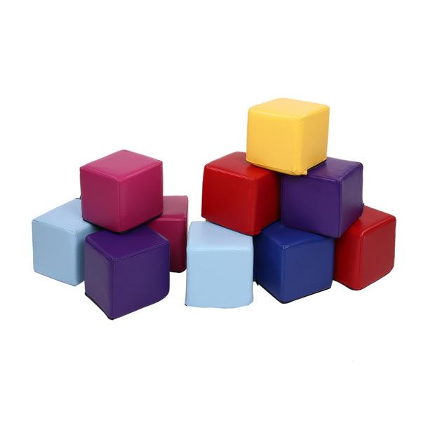 Children's Sensory Integration (12 Large Squares) Color