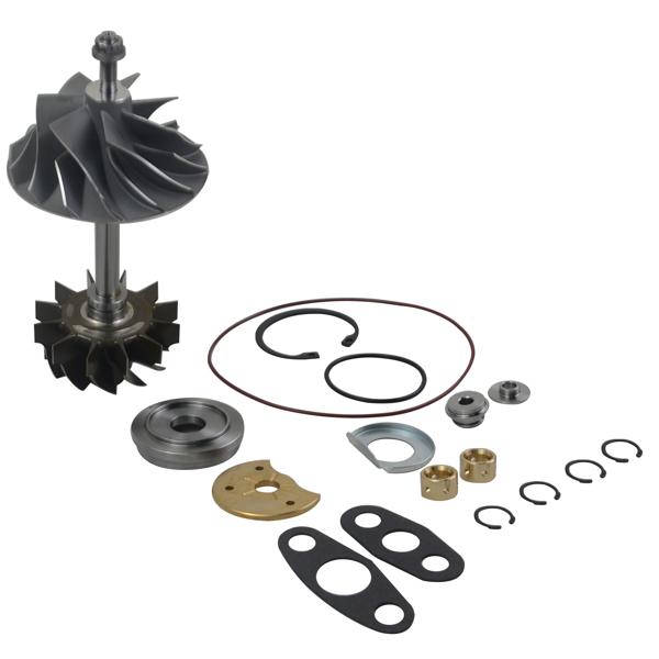 Compressor Wheel & Shaft & Rebuild Kit for Dodge Ram 2500 3500 2007-2012 68032290AB