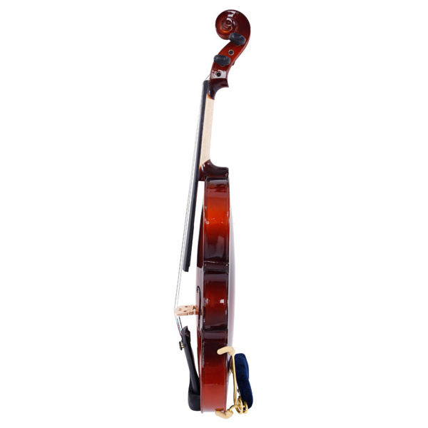 【Do Not Sell on Amazon】Glarry GV100 4/4 Acoustic Violin Case Bow Rosin Strings Tuner Shoulder Rest Natural