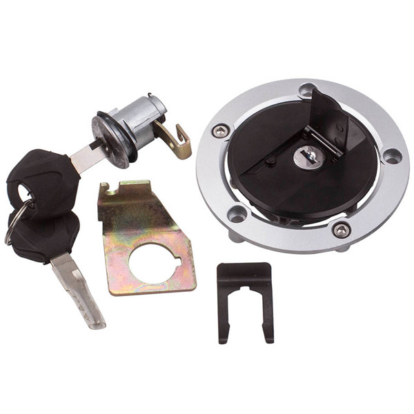 Ignition Switch Seat Fuel Gas Cap Lock Key Kit For Suzuki GSXR600 2004-2005 2008-2015 For Suzuki GSXR750 2004-2015