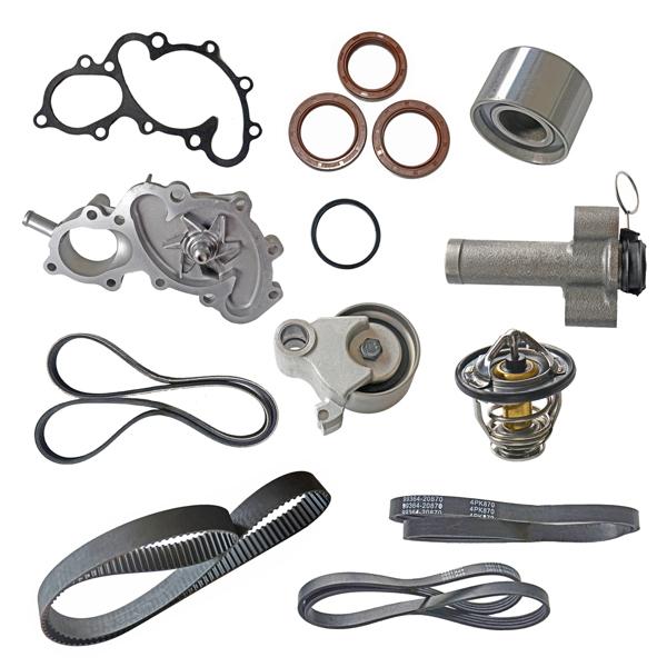 Timing Belt Kit Water Pump for Toyota 4Runner Tacoma Tundra V6 DOHC 5VZFE 1995-2004 13568-YZZ03