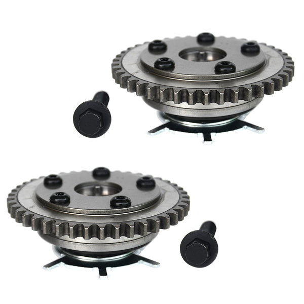 2pcs Timing Cam Phasers VVTi Actuator+Bolt For Ford Expedition Lincoln Navigator 2004-2006