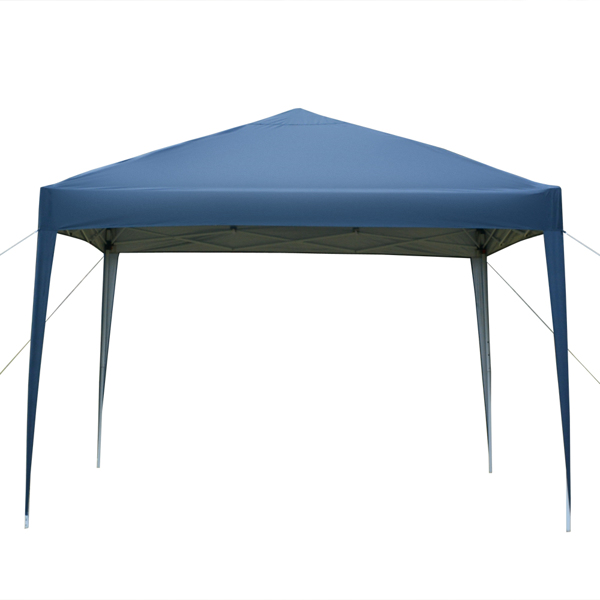 3x 3m Practical Waterproof Right-Angle Folding Tent Blue