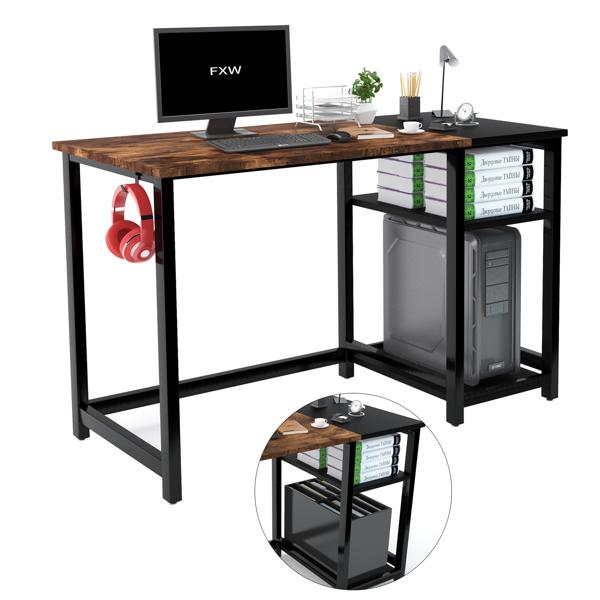 FXW 47 Inch Home Computer Desk