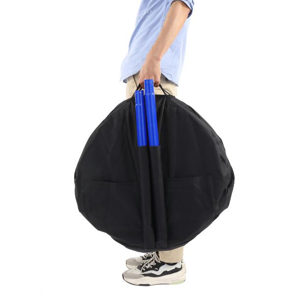 132*63.5*63.5cm Frisbee Holder Blue