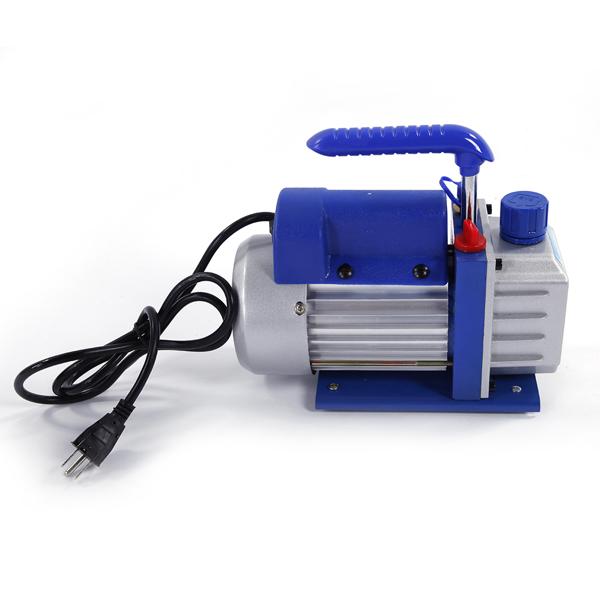 1/4 HP 3CFM Horsepower Vacuum Pump Blue