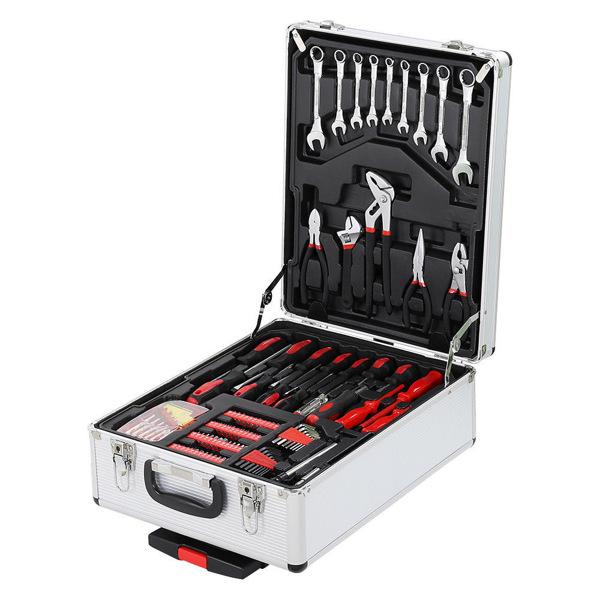 1199pcs Aluminum Trolley Case Tool Set
