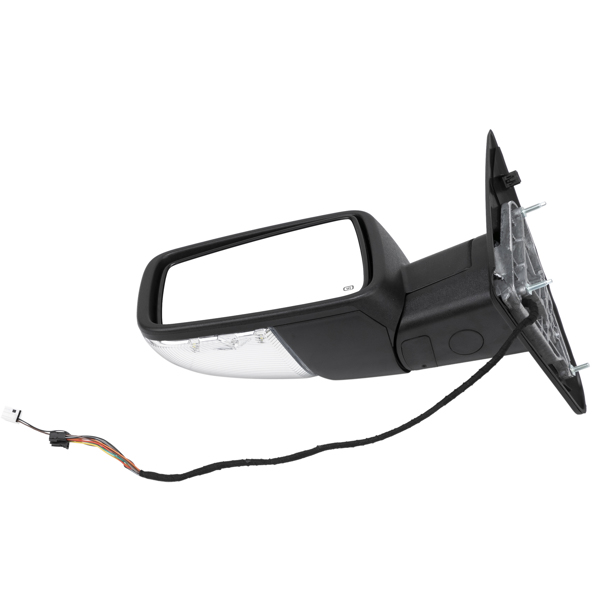 Fits 2009-2012 Dodge Ram 1500 LED Signal Power Heated Foldable Side Mirrors Pair