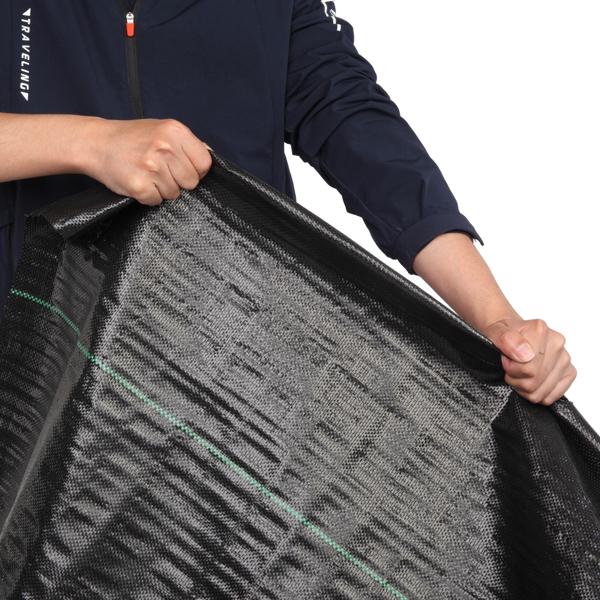 1*5M Black Polypropylene Weeding Cloth