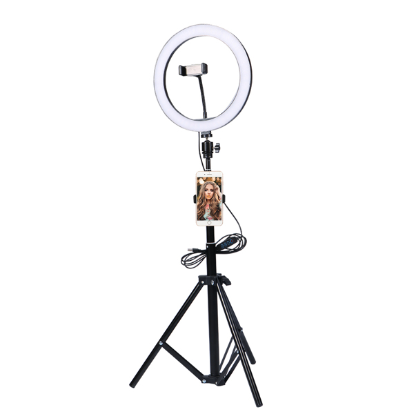 LED Ring Fill Light with Tripod Stand
