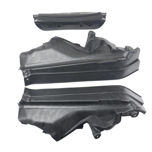 3Pcs Set Engine Upper Compartment Partition Panel 51717169419 for BMW X5 E70 2006-2013 LCI 2009-2013 X6 E71 2008-2014 X6 E72 Hyb 2009-2011