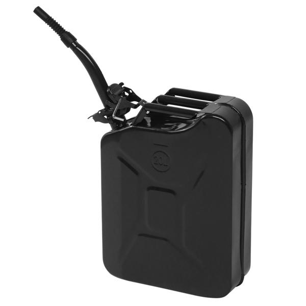 Iron 20L 0.6mm American Oil Drum Black
