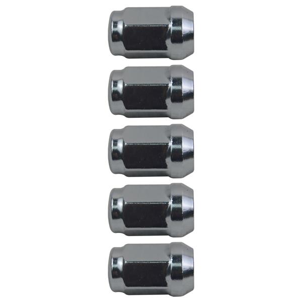 5Pcs Wheel Lug Nuts Set for Buick Lacrosse Chevrolet Cruze Impala Malibu Sonic Volt GMC Canyon S15 Pontiac 9598708 9594682