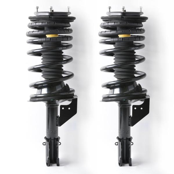 For Dodge Chrysler Minivans New Pair Front Complete Strut Spring Assembly 171833