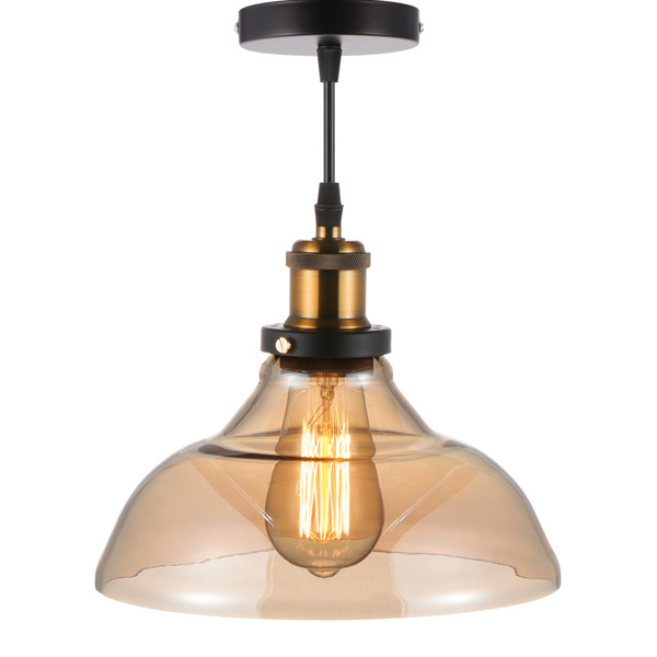 Glass Lampshade Ceiling Light