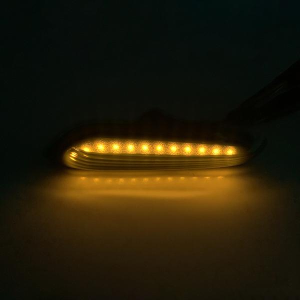 Smoke Led Side Marker Lights For BMW E46 E60 E82 E83 E90 E92