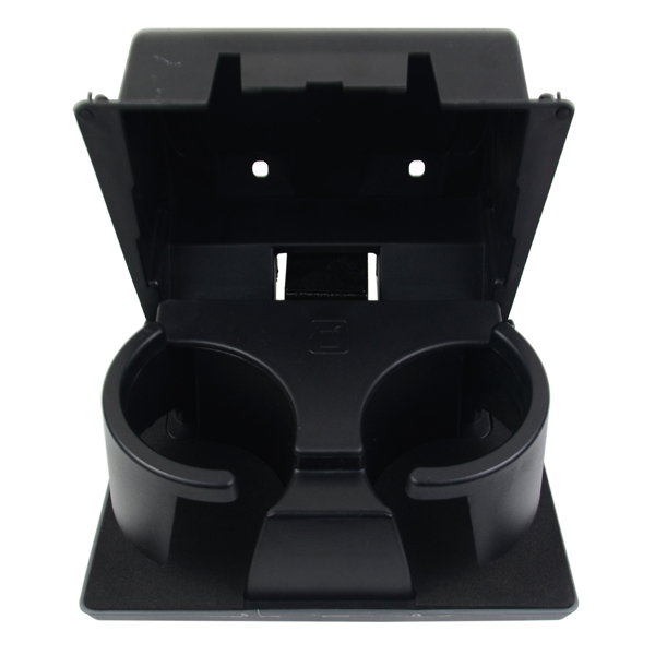 Steel Gray in-Dash Cup Holder Compatible with Ford F-250 F-350 F-450 F-550 Super Duty 2011-2016 8C3Z2513562AC 8C3Z-2513562-AC