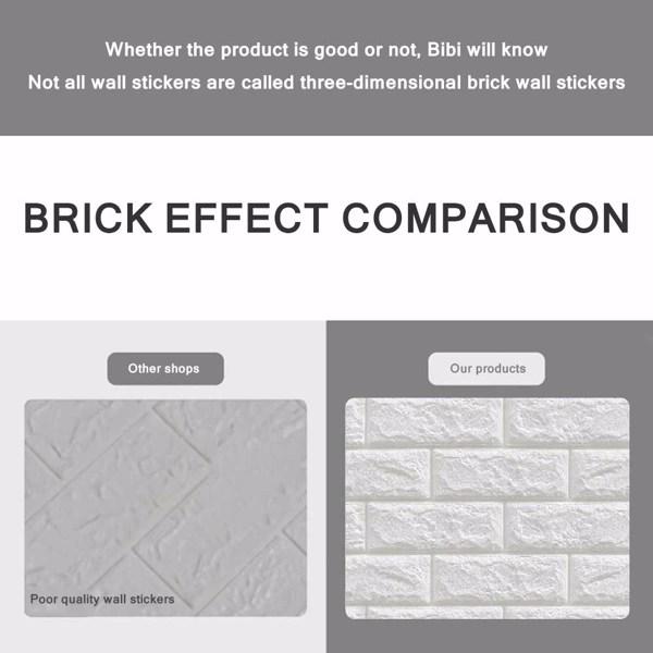 3D Brick Wall Stickers