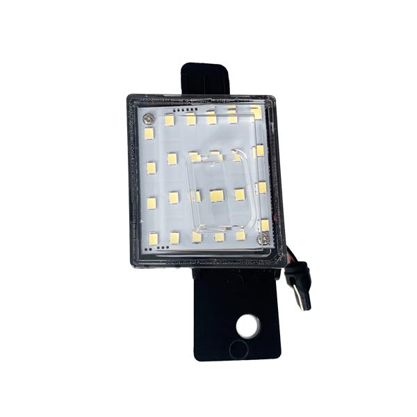 Bright White LED Tag License Plate Light Assembly For 2014-2018 Silverado Sierra