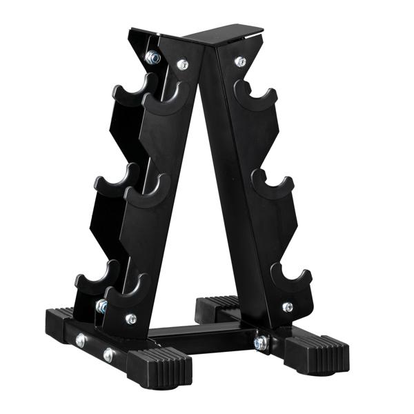 Iron Dumbbell Rack Storage Black