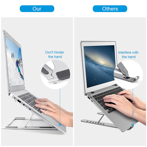 Adjustable Laptop Stand Ergonomic Portable Computer Stand Laptop Holder For 10-17.3inch