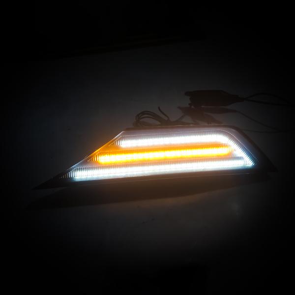 LED Side Signal Light Lamp Smoked Lens For 2016-20 Honda Civic