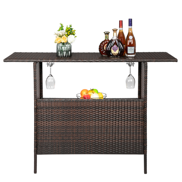 Modern Stylish And Beautiful Bar Table Brown Gradient