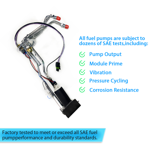 High-quality Fuel pumps for Vehicles 88-95 C/K 1500 2500 3500 Truck OE 51557581 Direct Replacement Parts US Warehouse