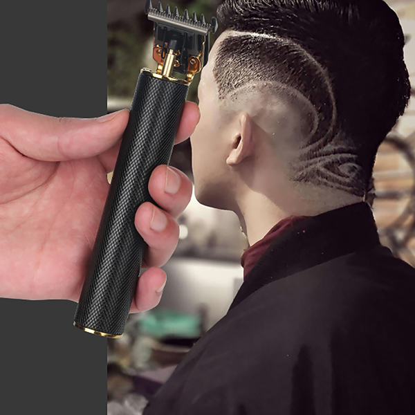 T-shaped Blade Trimmers Cordless Hair Clipper Rechargeable Fashion Retro Oil Head Carving Electric Clipper
