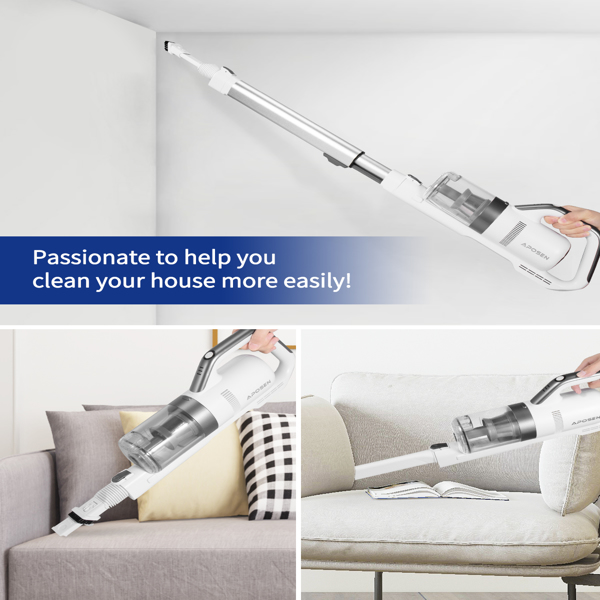 【Not available for sale on Amazon&Walmart】Aposen H21  dry cordless vacuum cleaner multi-functional handheld vacuum cleaner for floor sofa pet fur hair