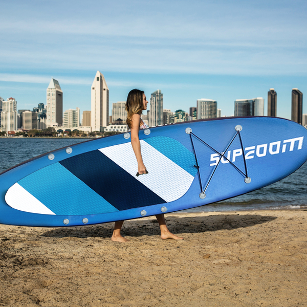 """SUPZOOM Turtle Animal Style Inflatable 10'6×32""""×6"""" SUP for All Skill Levels Everything Included with Stand Up Paddle Board, Paddle, Hand Pump, ISUP Travel Backpack, Leash, Waterproof Bag, Repair Kit"""