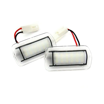 2x White LED Door Courtesy Lights Lamps For Toyota Sequoia Tundra 86 Camry Lexus