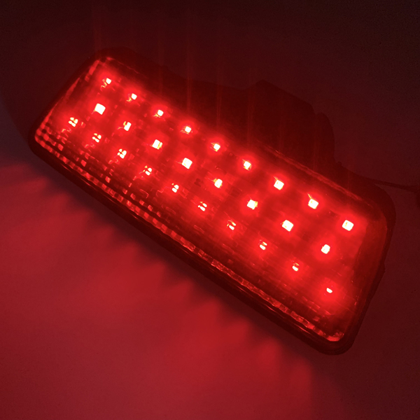 Smoked LED Tail Brake Light Fog Lamp FOR Nissan X-trail Rogue 2014-2018