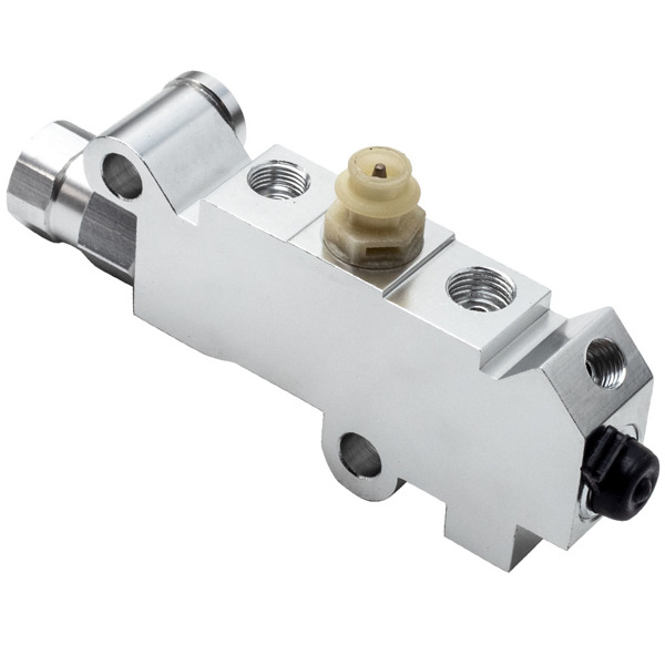 Universal Proportioning Valve Master Cylinder Booster Fit GMC for Ford for Chevy Chrome Disc Drum Brake 14041636 PV2T 1722215 AA113PV001