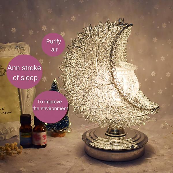 Bedside Lamp Moon Aromatherapy Lamp UK Plug
