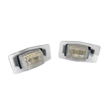 For 01-07 Ford Escape/99-05 Mazda Miata White LED License Plate Lights