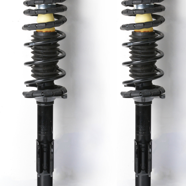Replacement for Chevy Malibu Pontiac Grand Am Rear Left/Right Fully Assembled Shock Strut + Coil Spring 171686
