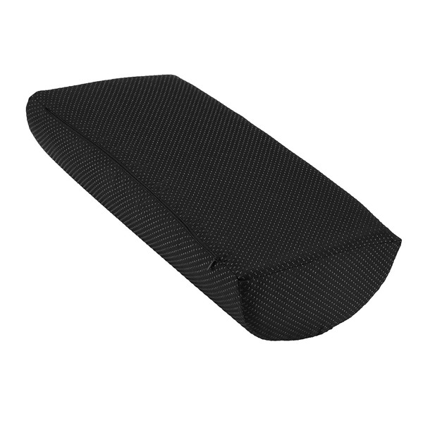 Ergonomic Feet Cushion Support Soft Memory Foam Foot Rest Under Desk Feet Stool Foam Pillow for Home Computer Work Chair Travel Black