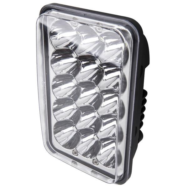 """2x LED Headlights High Beam 4x6"""" Sealed Fog light for Freightliner FLD120 112"""