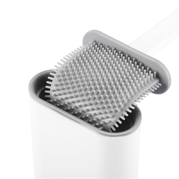 TPR PP Silicone Toilet Cleaning Brush Bathroom Cleaner For Homes Housewives Shower Room