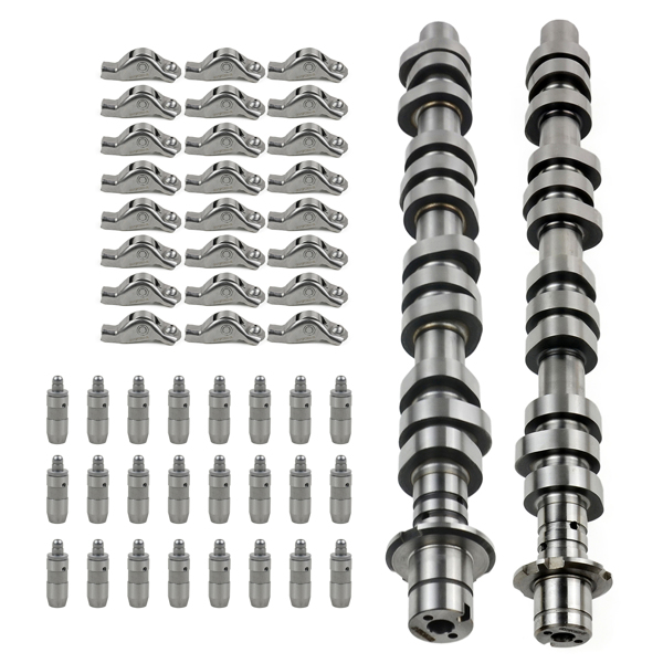 2*Camshaft(L+R) +24*Hydraulic Tappet+24*Rocker Arms for Ford Expedition Explorer F-150 F-250 F-350 & Lincoln Mark 2005-2008