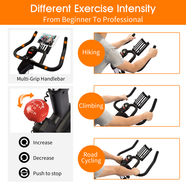 FXW Indoor Bike Cycling Stationary Exercise Bikes for Home