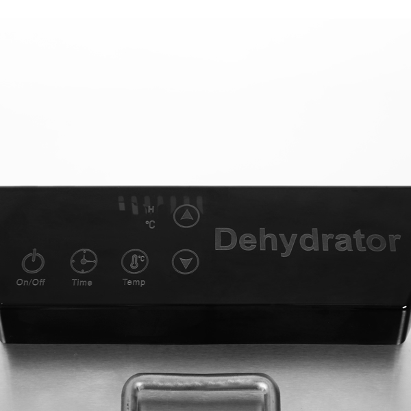 Food Dehydrator Machine - Digital Adjustable Timer | Temperature Control | Keep Warm Function | Dryer for Jerky, Herb, Meat, Beef, Fruit and To Dry Vegetables | 6 Stainless Steel trays