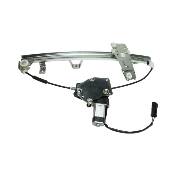 Front Driver Side Power Window Motor and Regulator Assembly for Select Jeep Models Black 55363287AE