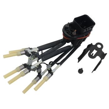 Central Fuel Spider Injector w/ Bracket for Chevoret GMC Isuzu 4.3L V6 1996-2003 12568332