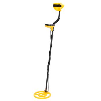 New Metal Detector Discrimination Mode Waterproof LCD 10inch Metal Finder Treasures Seeking Tool w/Shovel ,Bag ,Headphone And Head Lamp